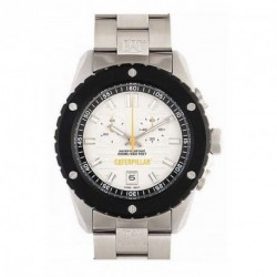 CAT SHOCKMASTER chronograph stainless steel bracelet