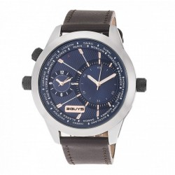 3GUYS DUAL TIME blue dial 3G14585