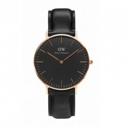 DANIEL WELLINGTON CLASSIC BLACK SHEFFIELD rose gold