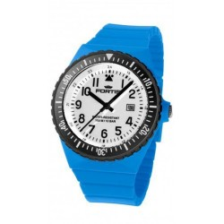 FORTIS COLORS UNISEX blue silicone strap