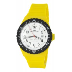 FORTIS COLORS UNISEX yellow silicone strap C04