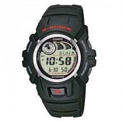 CASIO G-SHOCK black rubber strap