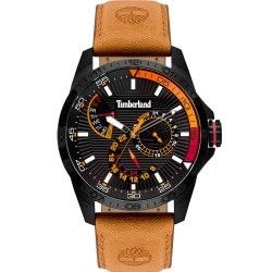 TIMBERLAND OAKHAM brown leather strap TBL15641JSB/02