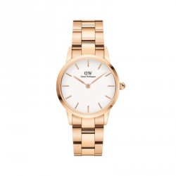 DANIEL WELLINGTON ICONIC LINK rose gold stainless steel DW00100213