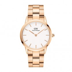 DANIEL WELLINGTON ICONIC LINK rose gold stainless steel DW00100209